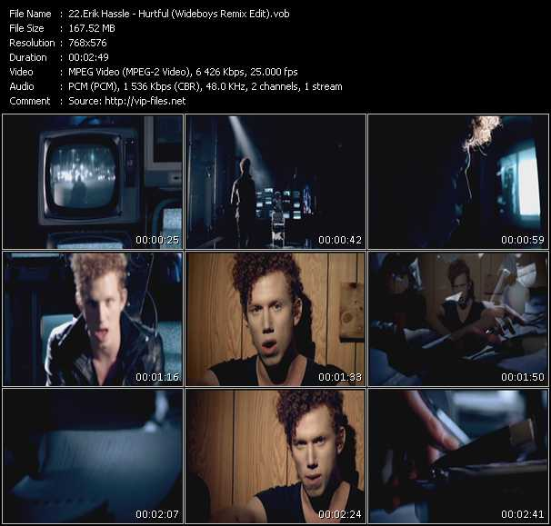 Erik Hassle video screenshot