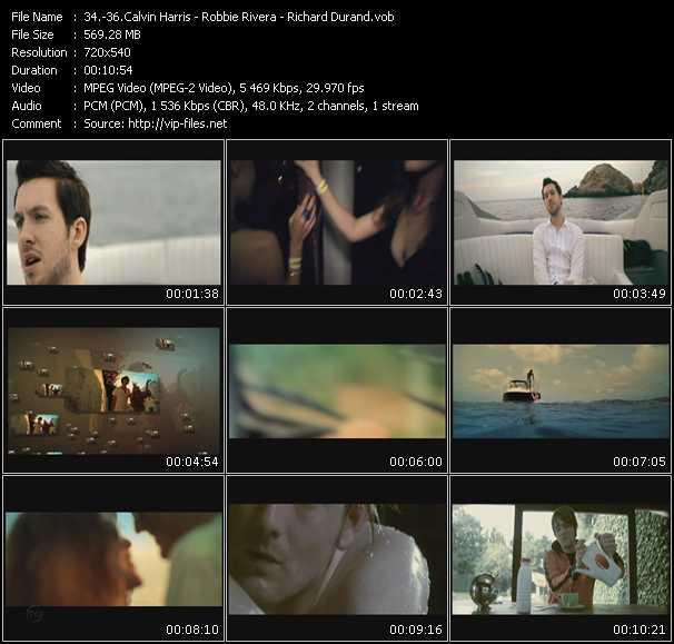Calvin Harris - Robbie Rivera - Richard Durand video screenshot