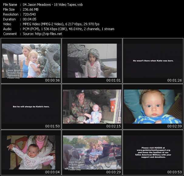 Jason Meadows video screenshot