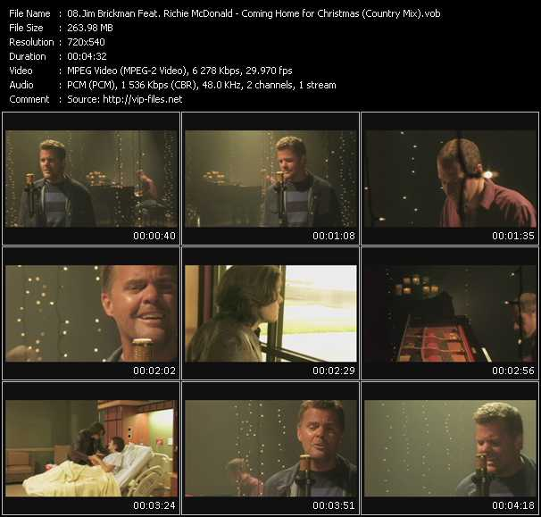 Jim Brickman Feat. Richie McDonald video screenshot