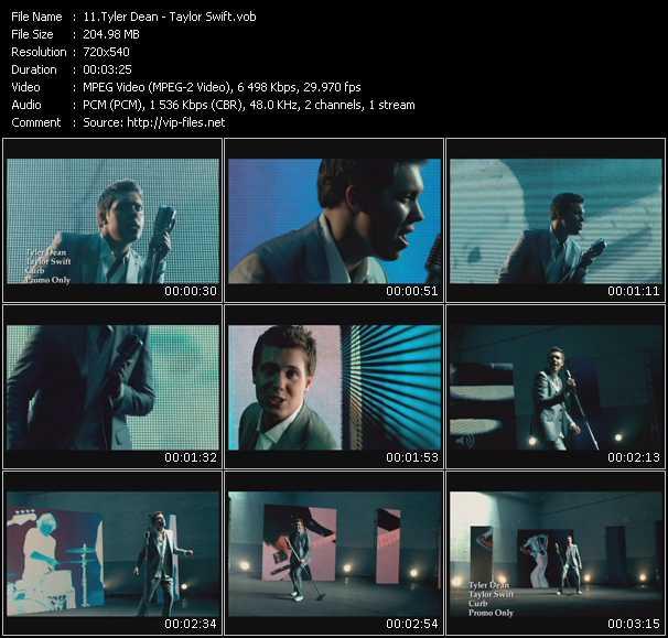 Tyler Dean video screenshot