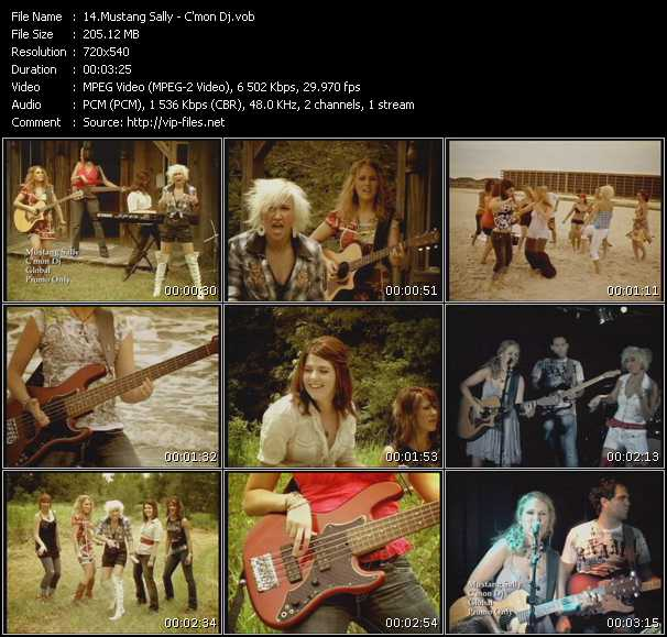 Mustang Sally video screenshot