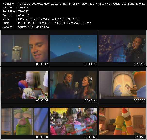 VeggieTales Feat. Matthew West And Amy Grant video screenshot
