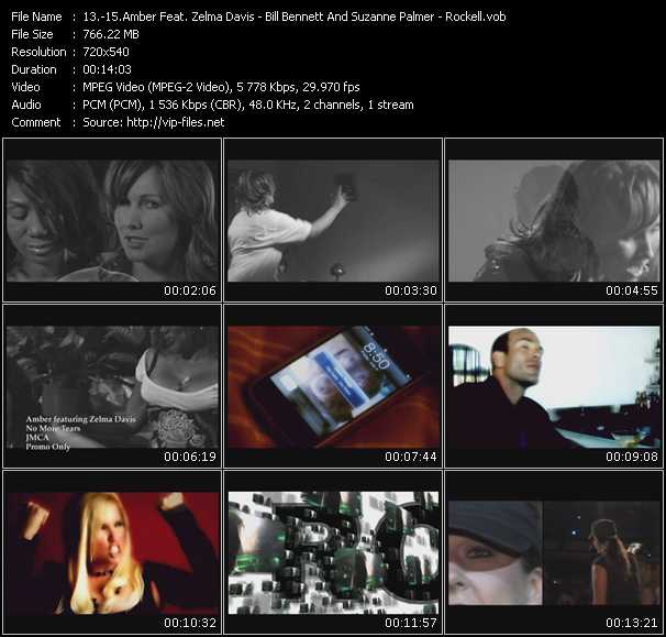 Amber Feat. Zelma Davis - Bill Bennett And Suzanne Palmer - Rockell video screenshot