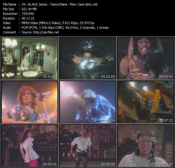 Rick James - Teena Marie - Mary Jane Girls video screenshot