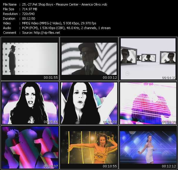 Pet Shop Boys - Pleasure Center - America Olivo video screenshot