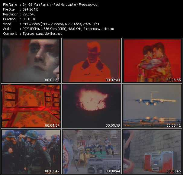 Man Parrish - Paul Hardcastle - Freeez video screenshot