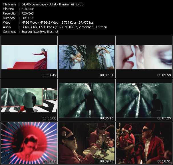 Lunascape - Juliet - Brazilian Girls video screenshot