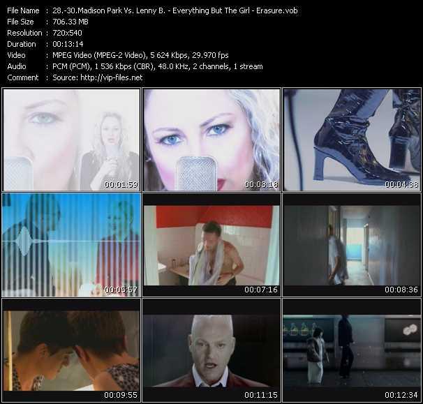 Madison Park Vs. Lenny B - Everything But The Girl - Erasure video screenshot