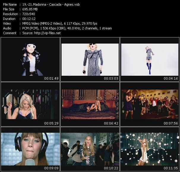 Madonna - Cascada - Agnes video screenshot