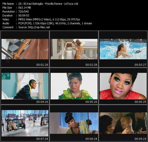 Kaci Battaglia - Priscilla Renea - LeToya video screenshot