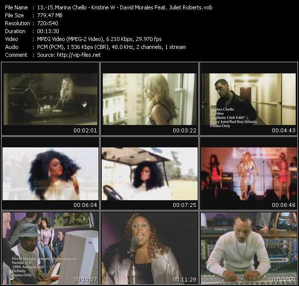 Marina Chello - Kristine W - David Morales Feat. Juliet Roberts video screenshot