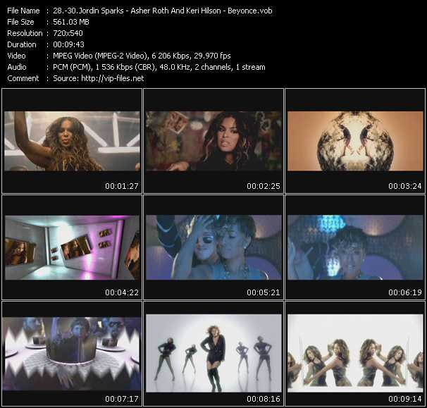 Jordin Sparks - Asher Roth And Keri Hilson - Beyonce video screenshot