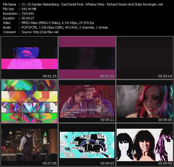 Sander Kleinenberg - Dani Deahl Feat. Whiskey Pete - Richard Vission And Static Revenger Feat. Luciana video screenshot