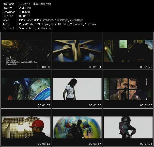 video Blue Magic screen