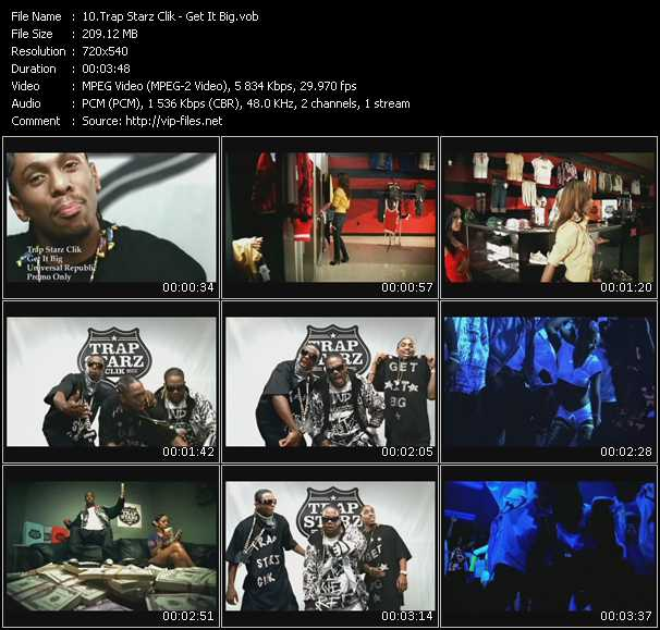 Trap Starz Clik video screenshot