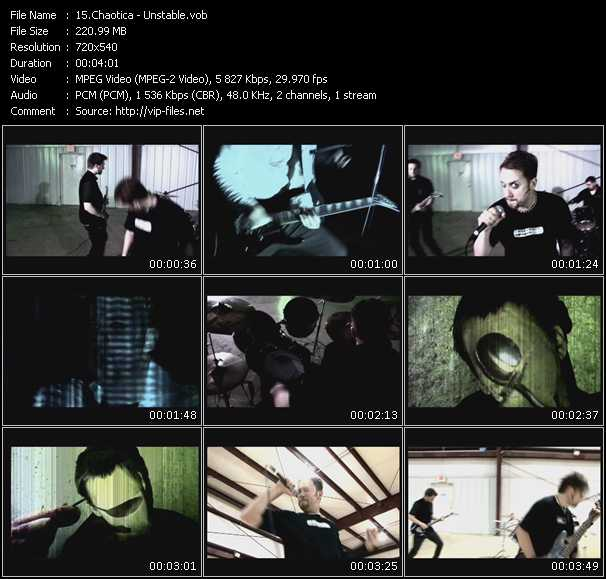 Chaotica video screenshot