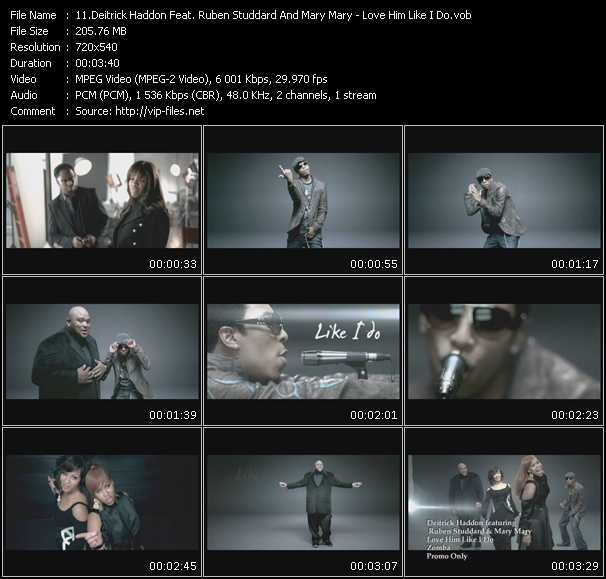 Deitrick Haddon Feat. Ruben Studdard And Mary Mary video screenshot