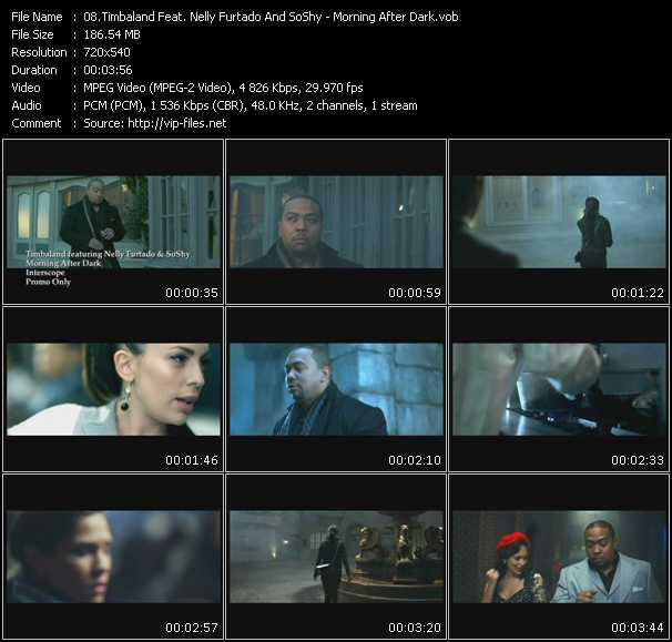 Timbaland Feat. Nelly Furtado And SoShy video screenshot
