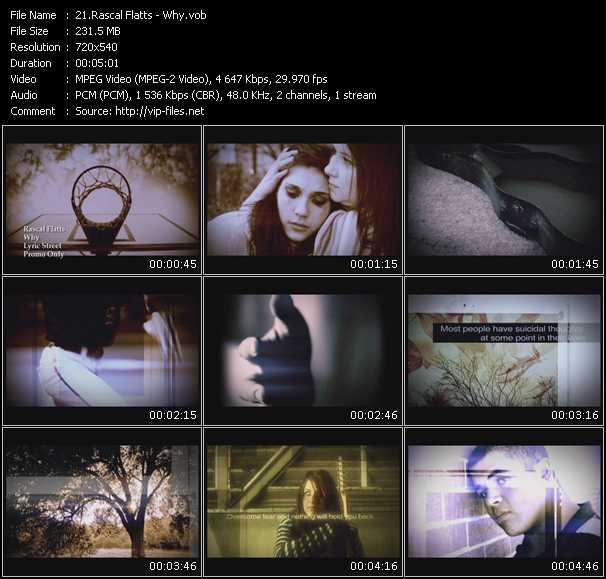 Rascal Flatts video screenshot
