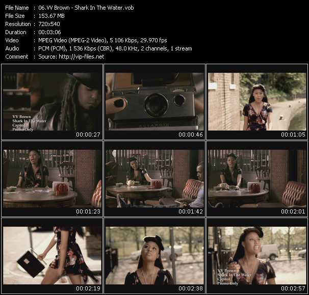 VV Brown video screenshot