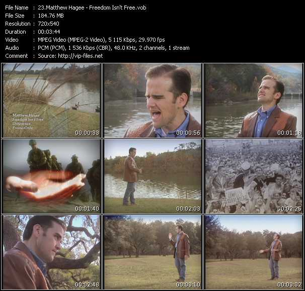 Matthew Hagee video screenshot
