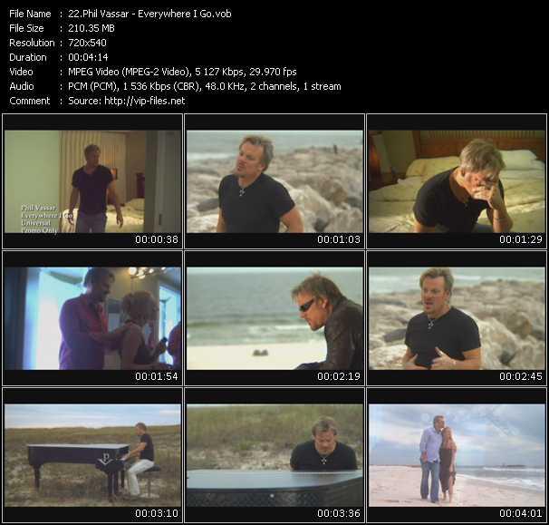 Phil Vassar video screenshot
