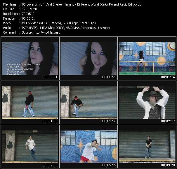Loverush UK! And Shelley Harland video screenshot