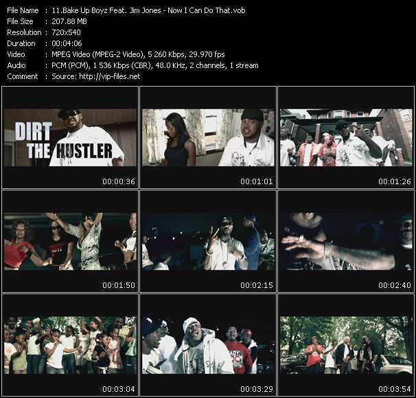 Bake Up Boyz Feat. Jim Jones video screenshot