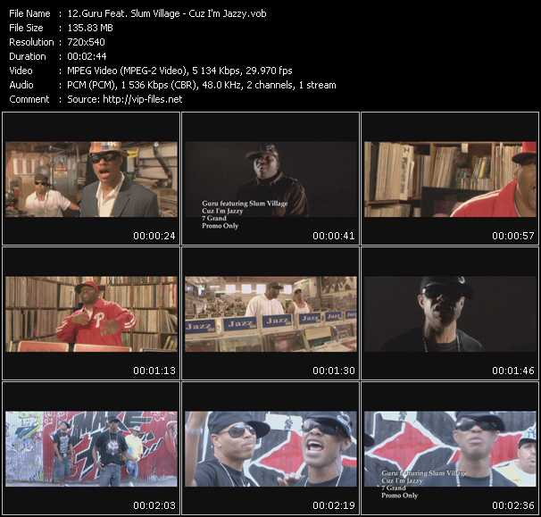 Guru Feat. Slum Village video screenshot