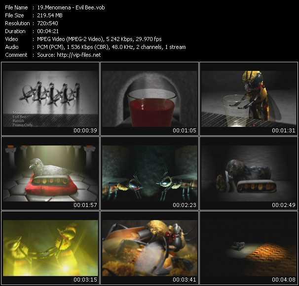 Menomena video screenshot