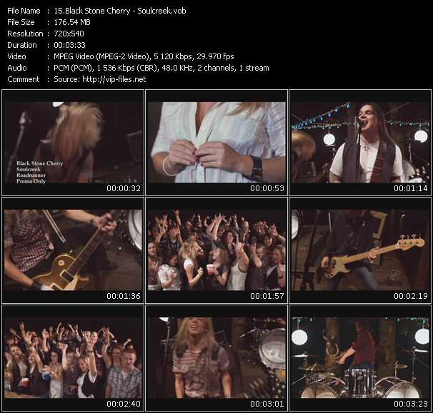 Black Stone Cherry video screenshot
