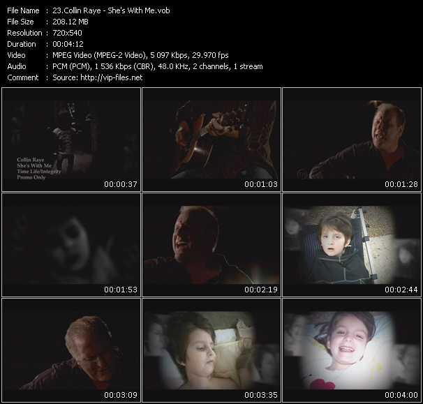 Collin Raye video screenshot