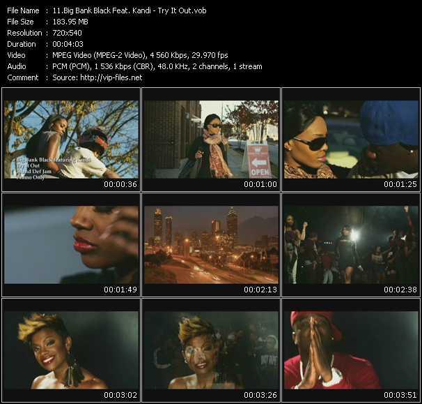 Big Bank Black Feat. Kandi video screenshot
