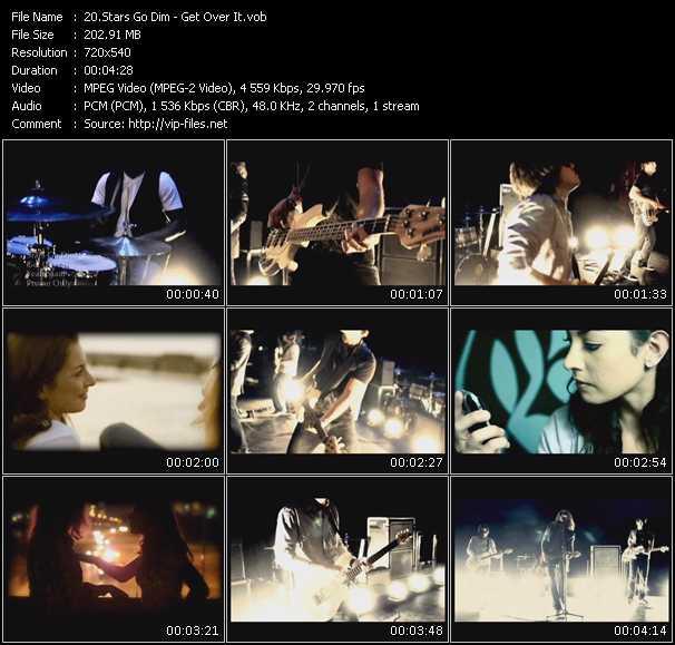 Stars Go Dim video screenshot
