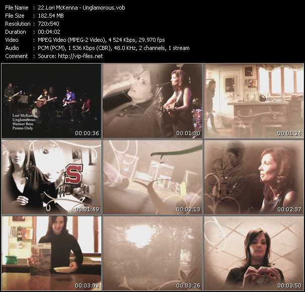 Lori McKenna video screenshot