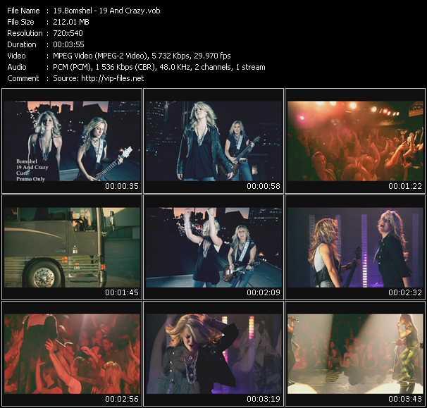 Bomshel video screenshot
