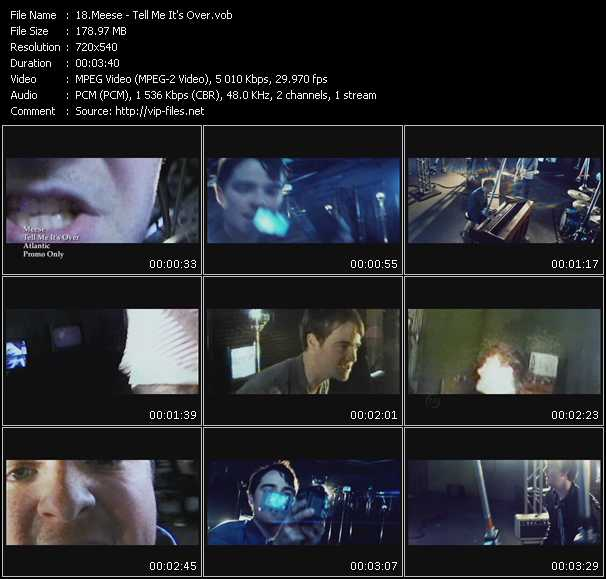 Meese video screenshot