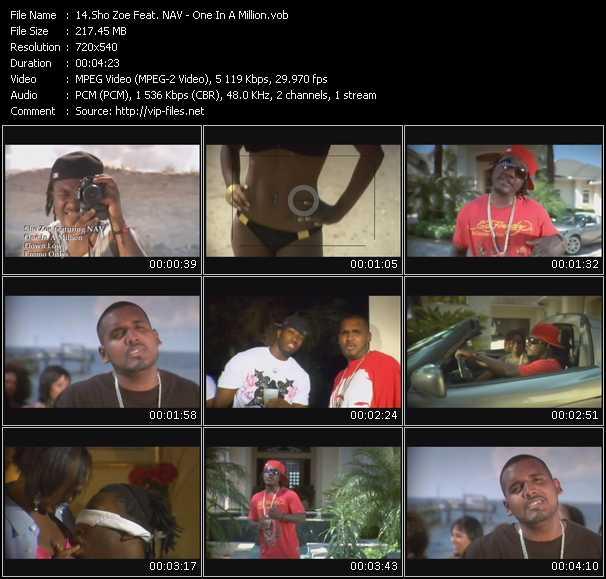 Sho Zoe Feat. NAV video screenshot