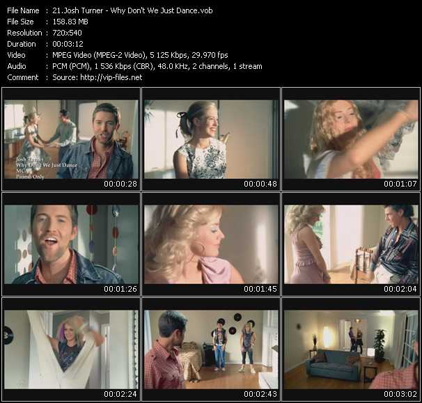 Josh Turner video screenshot