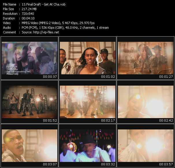 Final Draft video screenshot