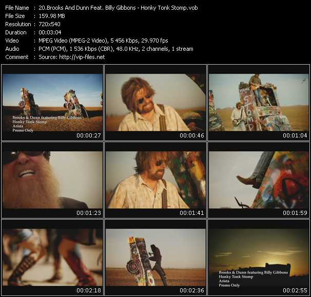 Brooks And Dunn Feat. Billy Gibbons video screenshot