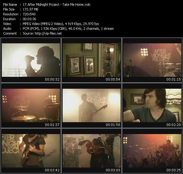 After Midnight Project video screenshot