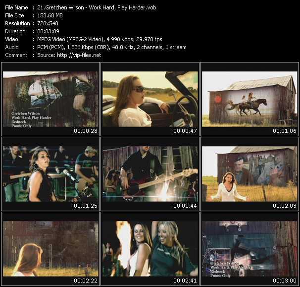 Gretchen Wilson video screenshot