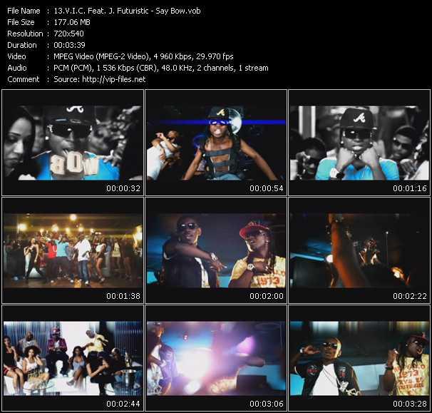 V.I.C. Feat. J. Futuristic video screenshot