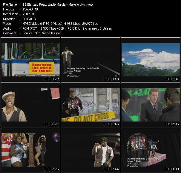 Blahzay Feat. Uncle Murda video screenshot