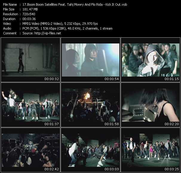 Boom Boom Satellites Feat. Tahj Mowry And Flo Rida video screenshot