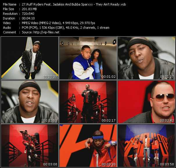 Ruff Ryders Feat. Jadakiss And Bubba Sparxxx video screenshot