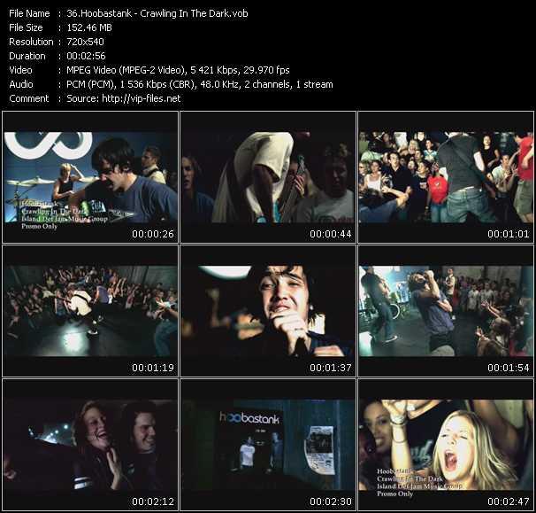 Hoobastank video screenshot