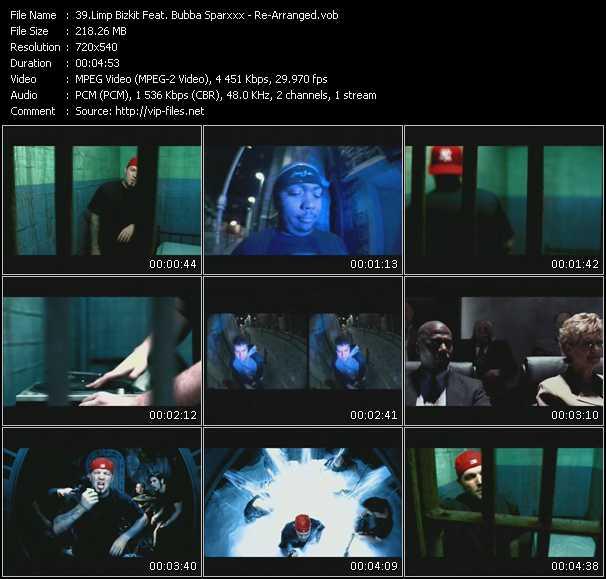 Limp Bizkit Feat. Bubba Sparxxx video screenshot